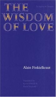 Cover of: The Wisdom of Love (Texts and Contexts)