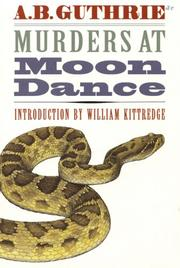 Cover of: Murders at Moon Dance
