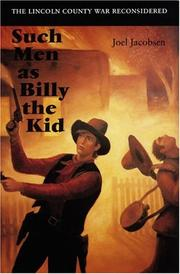 Cover of: Such Men as Billy the Kid | Joel Jacobsen
