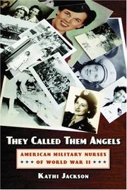 Cover of: They called them angels | Kathi Jackson