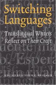 Cover of: Switching Languages