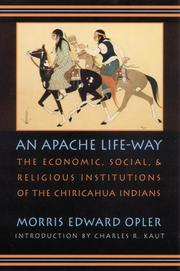 Cover of: An Apache life-way
