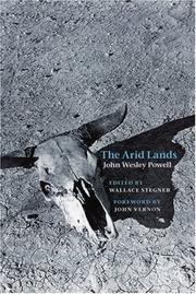 Cover of: The arid lands
