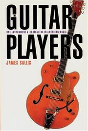 Cover of: The guitar players | James Sallis