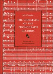 Cover of: The Christmas of the phonograph records
