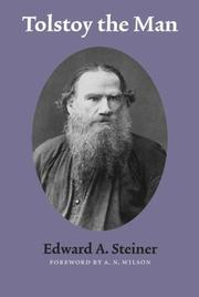 Cover of: Tolstoy the man