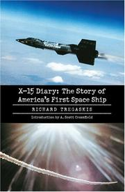 Cover of: X-15 diary