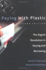 Cover of: Paying with Plastic, 2nd Edition | David S. Evans