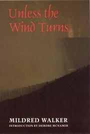 Cover of: Unless the wind turns