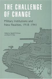 Cover of: The Challenge of Change |