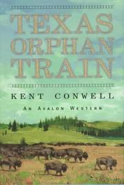 Cover of: Texas orphan train
