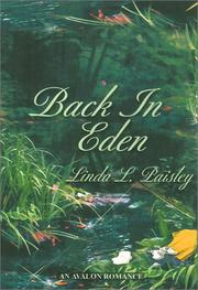 Cover of: Back in Eden