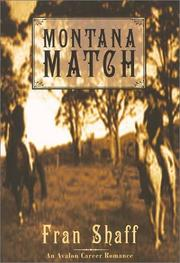Cover of: Montana match | Fran Shaff