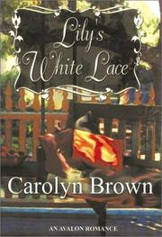 Cover of: Lily's white lace