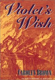 Cover of: Violet's wish