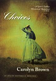 Cover of: Choices