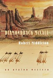 Cover of: Diamondback Mccall | Robert Middleton