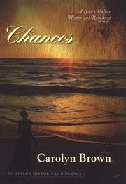 Cover of: Chances: A Love's Valley Historical Romance