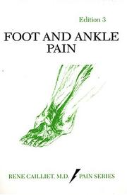 Foot and ankle pain by Rene Cailliet