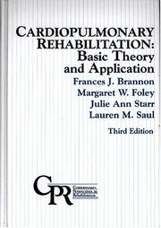 Cover of: Cardiopulmonary rehabilitation |