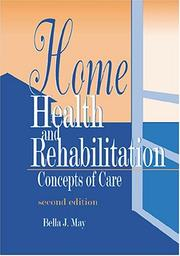 Cover of: Home Health and Rehabilitation