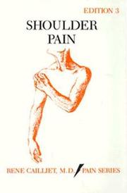 Cover of: Shoulder pain | Rene Cailliet