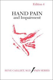 Hand pain and impairment by Rene Cailliet