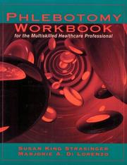 Cover of: Phlebotomy Workbook for the Multiskilled Healthcare Professional