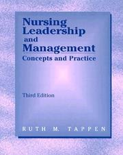 Nursing Leadership and Management by Ruth M. Tappen