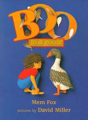 Cover of: Boo to a goose | Mem Fox