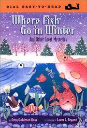 Cover of: Where Fish Go in Winter