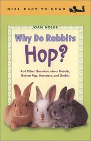 Cover of: Why Do Rabbits Hop