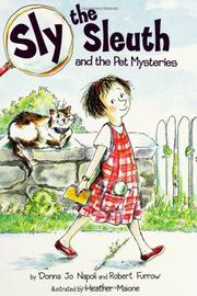Cover of: Sly the Sleuth and the pet mysteries