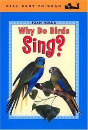 Cover of: Why Do Birds Sing? (Easy-to-Read, Dial)