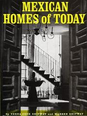 Cover of: Mexican Homes of Today | Verna Cook Shipway