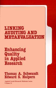 Linking Auditing and Meta-Evaluation
