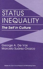 Status inequality by George A. De Vos