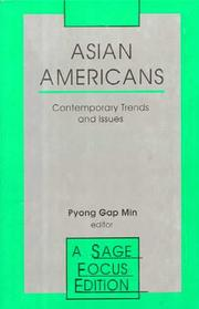 Cover of: Asian Americans | Pyong Gap Min