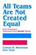 Cover of: All teams are not created equal | Lyman D. Ketchum