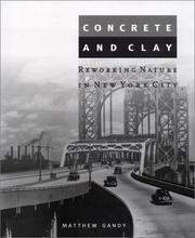 Cover of: Concrete and Clay | Matthew Gandy