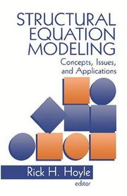 Cover of: Structural equation modeling |