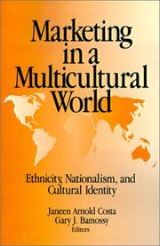Cover of: Marketing in a Multicultural World |
