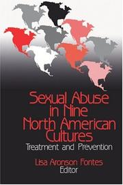 Cover of: Sexual Abuse in Nine North American Cultures