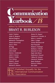 Cover of: Communication Yearbook