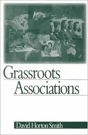 Cover of: Grassroots Associations | David Horton Smith