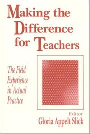 Cover of: Making the Difference for Teachers