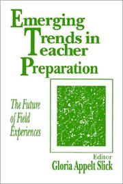 Cover of: Emerging Trends in Teacher Preparation