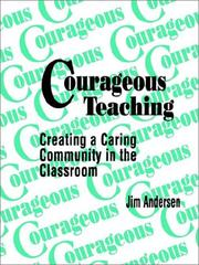 Cover of: Courageous teaching