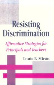 Cover of: Resisting discrimination