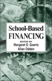 Cover of: School-based financing